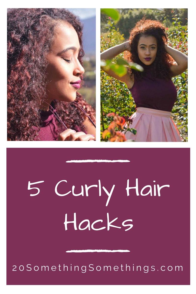 5 Curly HairHacks